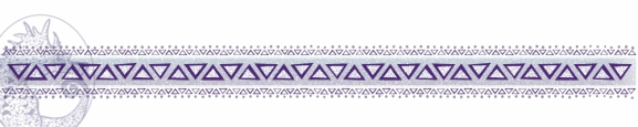Purple Tribal Border