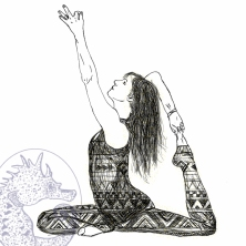 Yoga Figure drawing