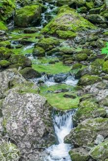 Uisge Bàn Falls Creek