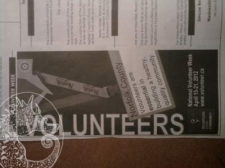 Volunteer Day Ad