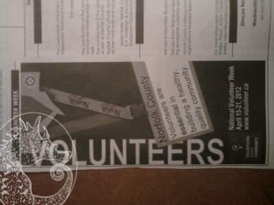 Volunteer Day Ad