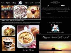 Happy Clam Cafe Website 2018